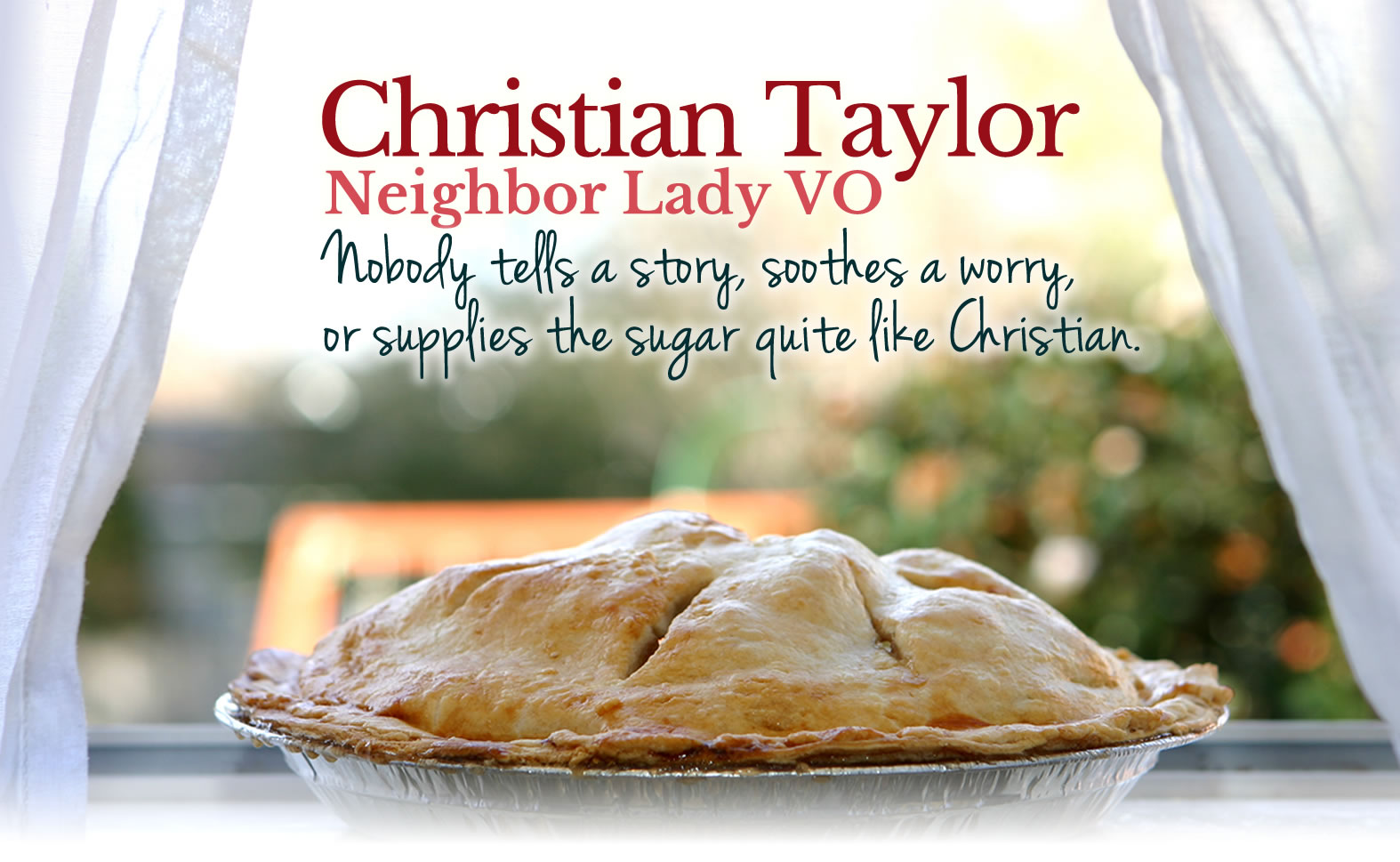 christian taylor voiceover