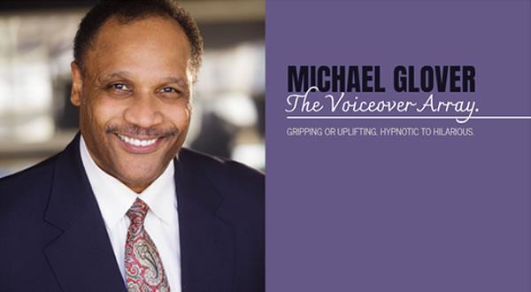 Michael Glover Voiceover branded by Celia Siegel Management