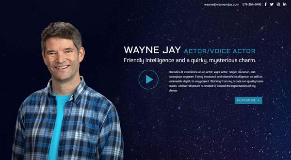 Wayne M. Jay branding by Celia Siegel Management