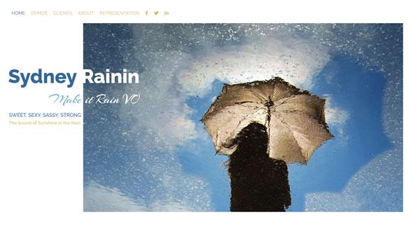 Sydney Rainin branding by Celia Siegel Management