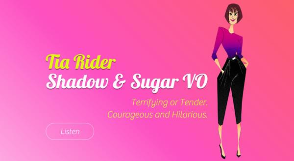 Tia Rider branding by Celia Siegel Management
