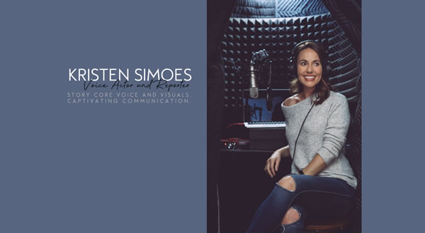 Kristen Simoes branding by Celia Siegel Management