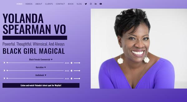 Yolanda Spearman branding by Celia Siegel Management
