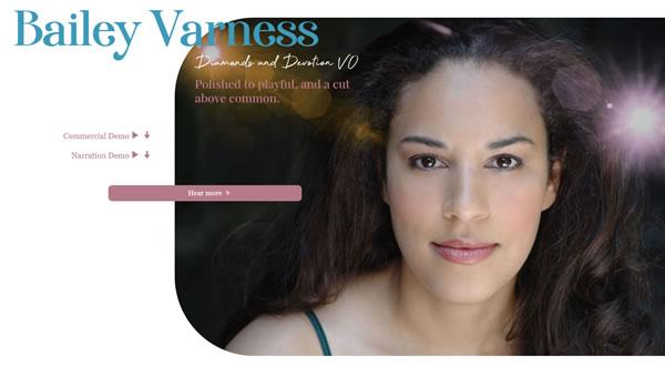 Bailey Varness branding by Celia Siegel Management